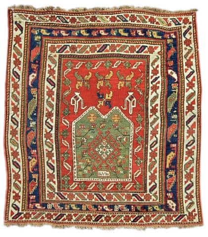 Anatolian Prayer rug Peter Papp - Less than two months to the Antique Rug & Textile Show
