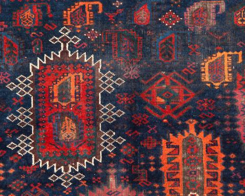 Baluch Seref Ozen - Less than two months to the Antique Rug & Textile Show