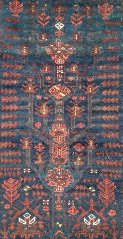 Baluch tree balisht Andy Lloyd  - Less than two months to the Antique Rug & Textile Show
