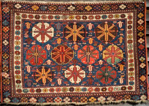 Kurdish bagface Jeff Dworsky - Less than two months to the Antique Rug & Textile Show