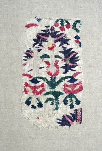 Ottoman Kilim fragment. Exhibitor Alberto Levi