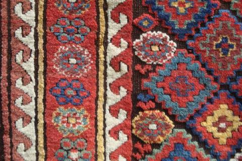 Suj Balouk detail Lawrence Kearney - Less than two months to the Antique Rug & Textile Show