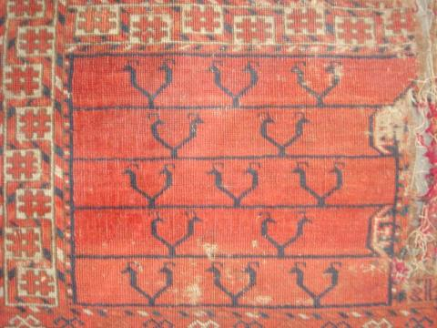 Tekke Ensi Sam Coad - Less than two months to the Antique Rug & Textile Show