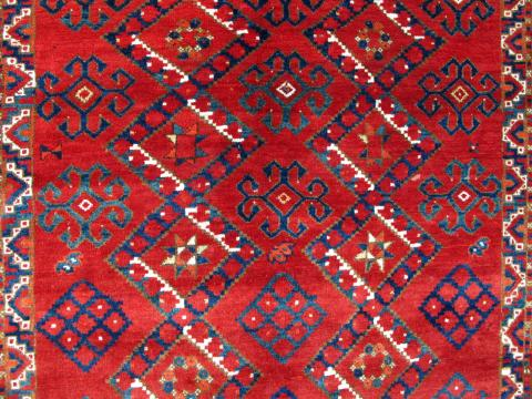 ersari ensi Mark Berkowich - Less than two months to the Antique Rug & Textile Show