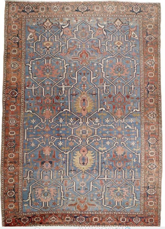 1746 - More Serapi rugs I