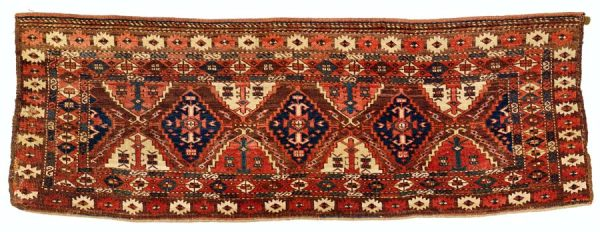 Lot 202, Chodor 57 x 161 cm from the second half of the 19th century. Estimate 1.800 EUR