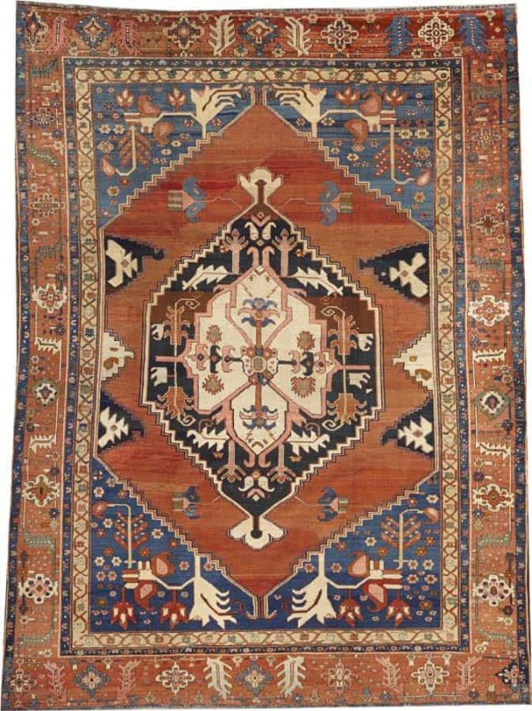 2126 598x800 - More Serapi rugs I