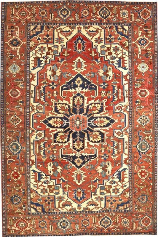 2138 533x800 - More Serapi rugs I