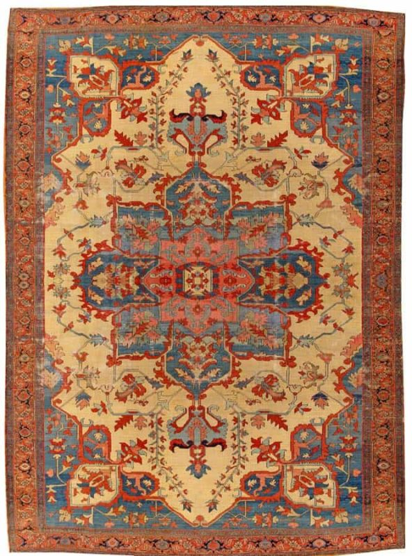 2142 592x800 - More Serapi rugs I