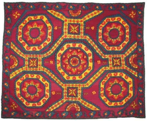 CentralAsianEmbroidery AndyHale - The Antique Rug & Textile Show begins in less than 48 hours