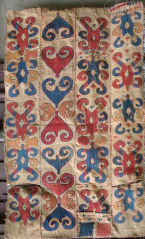UzbekEmbroideryLawrenceKearney - The Antique Rug & Textile Show begins in less than 48 hours