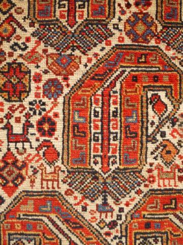khamseh AndyLloyd - The Antique Rug & Textile Show begins in less than 48 hours