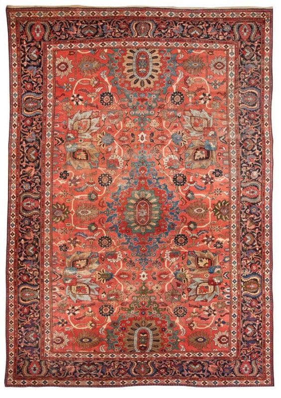 1236 564x800 - Bukowskis Classic Sale including carpets and textiles