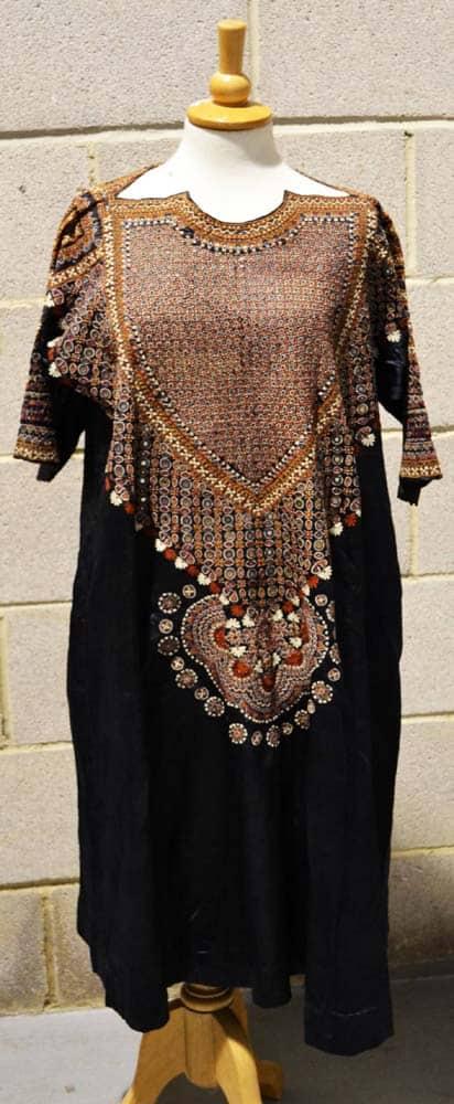 Lot 1744: Sindh lady's wedding costume, late 19th century. Estimate £500-800