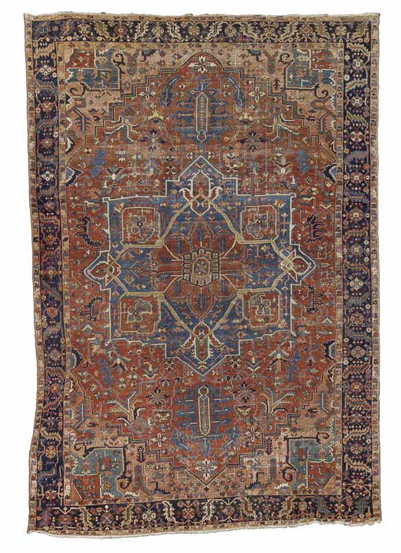 Lot 281. A HERIZ CARPET, North West Persia, 579cm x 392cm£3,000 - 5,000