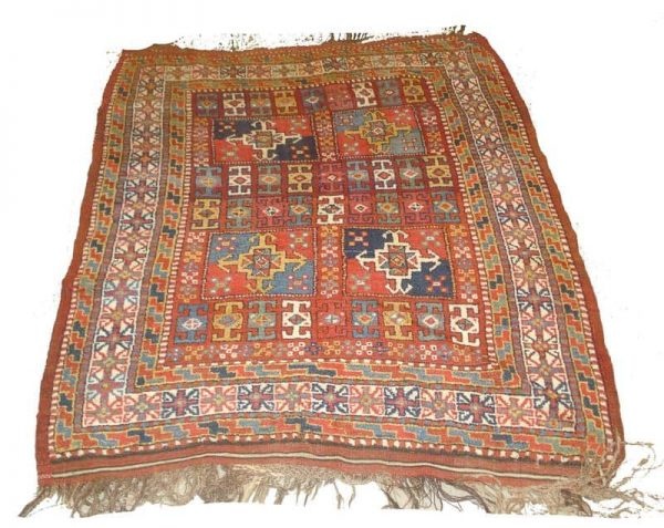 Lot 284. A BERGAMA RUG, West Anatolia, 135cm x 107cm £400 - 600