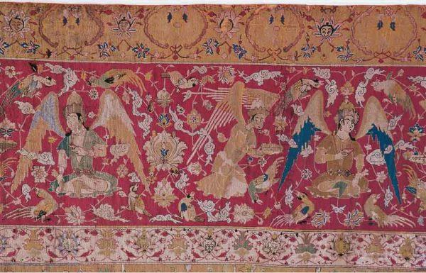 Wiener Jagdteppich [Viennese Hunting Carpet], detail, Safavid Empire, Central Iran, Kashan, 1st half 16th century 687 x 331 cm, taken over from the Imperial Court in 1922. © Gerald Zugmann/MAK