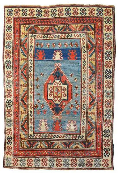 Lot 116, a Kazak, Caucasus, late 19th century. 207 x 145 cm. Estimate 2500EUR