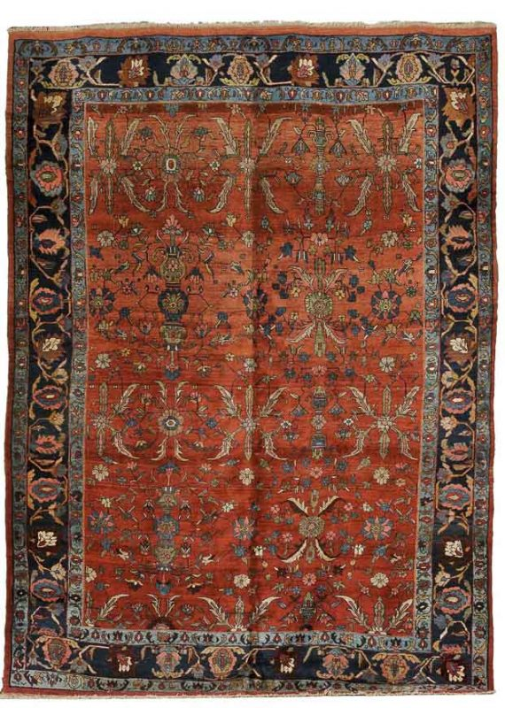 Lot 167. Bidjar Carpet, Northwest Persia, early 20th century. Estimate $5,000 - $6,000