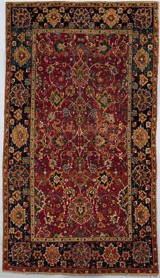 1a. Carpet 72dpi - Islamic carpets and Dutch paintings at the MET