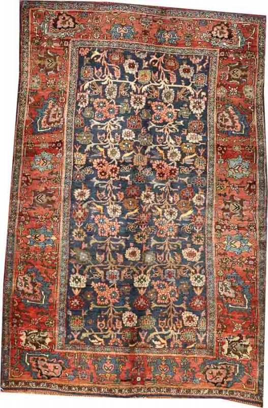 Lot 2000. A BIDJAR RUG Northwest Persia size approximately 4ft. 7in. x 6ft. 10in. US$ 2,500 - 3,500