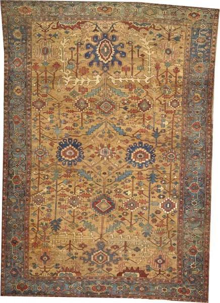 Lot 2012. A BAKSHAISH CARPET Northwest Persia size approximately 9ft. 2in. x 13ft. US$ 8,000 - 12,000