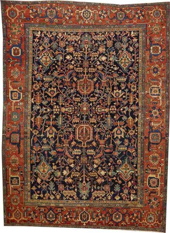 Lot 2092. A HERIZ CARPET Northwest Persia size approximately 8ft. 9in. x 12ft. US$ 6,000 - 8,000