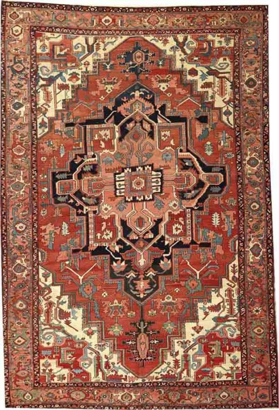 2097 545x800 - More Serapi rugs I