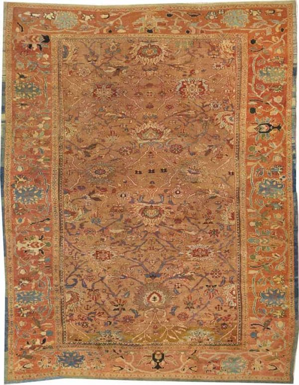Lot 2131. A SULTANABAD CARPETCentral Persia size approximately 10ft. 5in. x 13ft. US$ 15,000 - 16,000