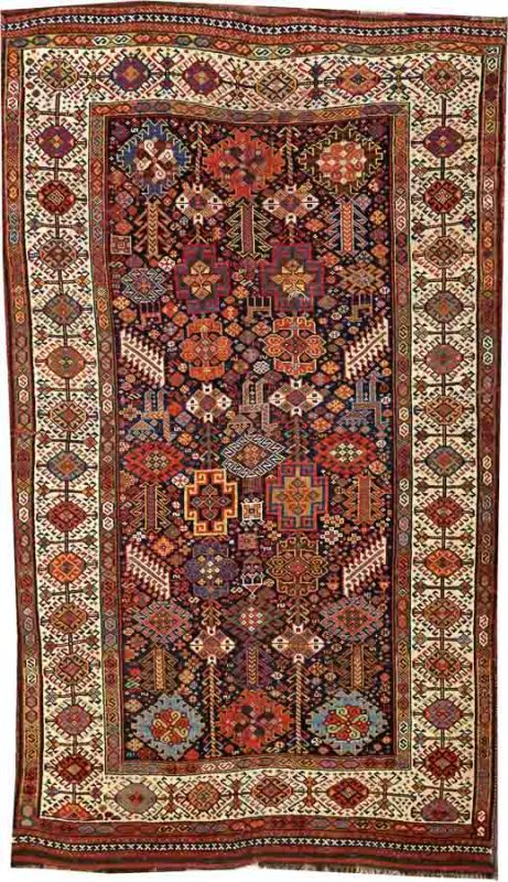 Lot 2213. A QUASHQAI RUGSouthwest Persia size approximately 5ft. 1in. x 8ft. 10in. US$ 800 - 1,200