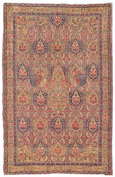 Lot 5, a Farahan rug, West Persia, 2nd half 19th century. 182 x 123 cm. Estimate 900 EUR
