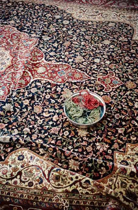Bba11.21 - Artistic photo documentary by Simone Haug: Carpet restoration in Istanbul