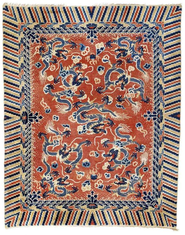 136 600x759 - Interesting antique rug & textile auction at Rippon Boswell, Wiesbaden