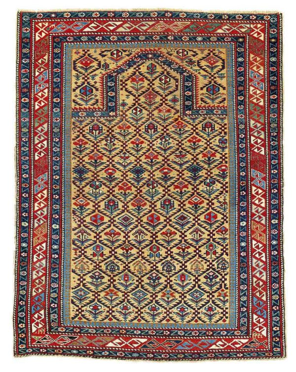 22 600x753 - Interesting antique rug & textile auction at Rippon Boswell, Wiesbaden