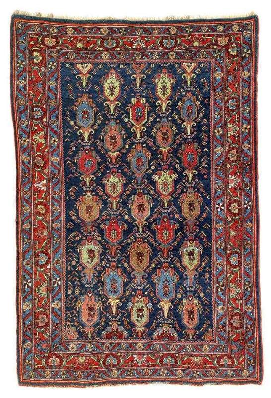 49 546x800 - Interesting antique rug & textile auction at Rippon Boswell, Wiesbaden