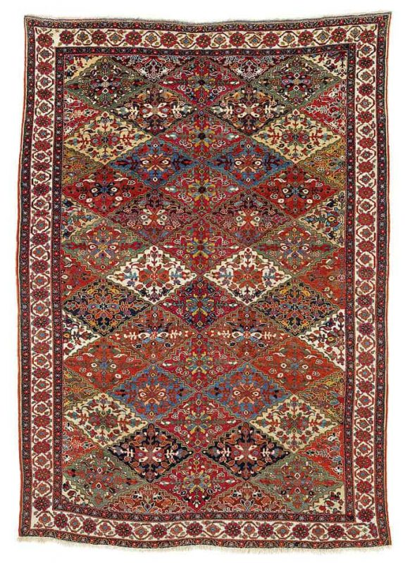 60 575x800 - Interesting antique rug & textile auction at Rippon Boswell, Wiesbaden