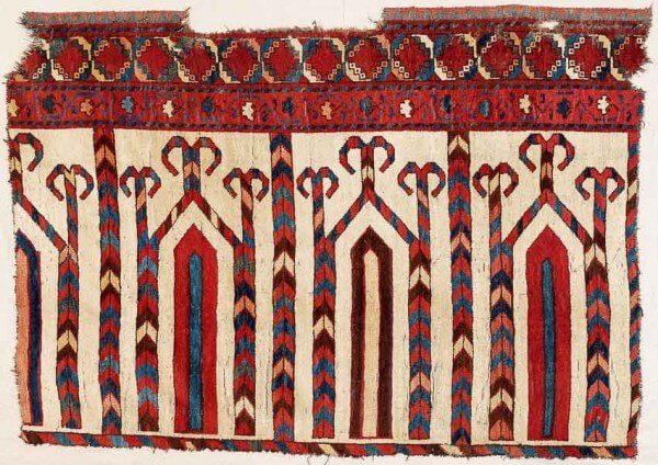 96 600x424 - Interesting antique rug & textile auction at Rippon Boswell, Wiesbaden