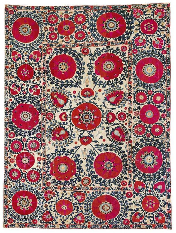 97 600x794 - Interesting antique rug & textile auction at Rippon Boswell, Wiesbaden