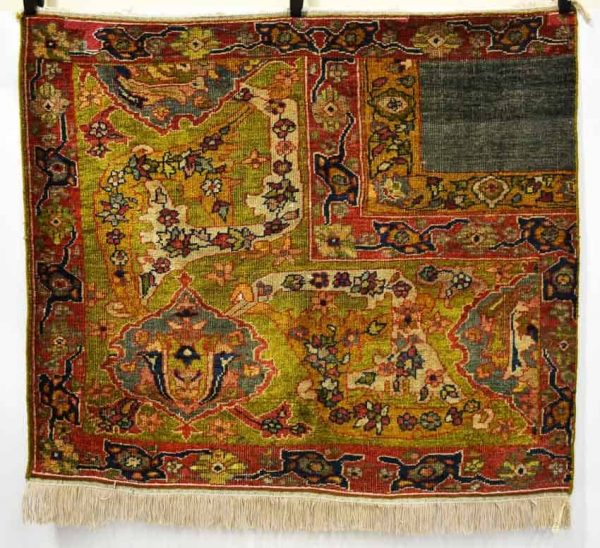 Lot 67. Ziegler wagireh, north west Persia, late 19th century, 3ft. 5in. x 4ft. 1.04m. x 1.22m. Estimate £600-800