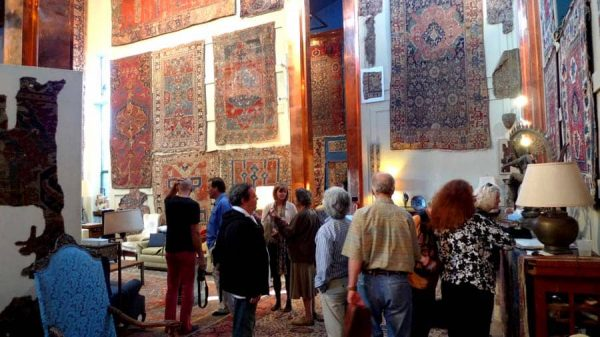 Jim Dixon's Occidental Carpet Palace. Archive photo 2009 by Rob van Wieringen