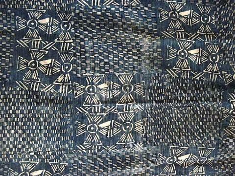 PowerofBlueDet1 480x360 - Indigo-dyed Textiles of Mali