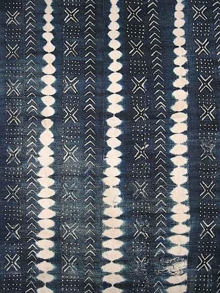 PowerofBlueDet2 450x600 - Indigo-dyed Textiles of Mali