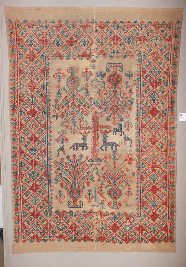 20140911 DSCF6666 - Antique Peasant Rugs from Sardinia and Abruzzo at Sartirana Textile Show