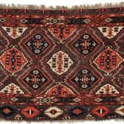 Lot 264, a Chodor Chuval, West Turkestan, second half 19th century, 3 ft. 7 in. x 2 ft. 5 in. Estimate $800-1,200