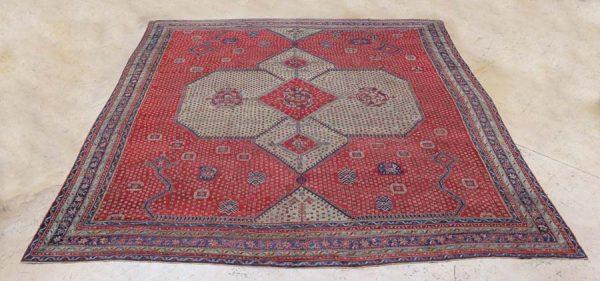 Lot 302, a 19th century Palace-Size Oushak carpet 22' x 25'