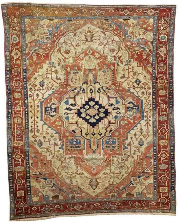 4135 600x749 - More Serapi rugs I