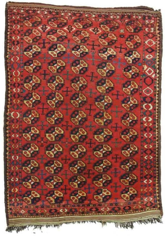 421 563x800 - Special exhibition of Central Asian Rugs at ARTS