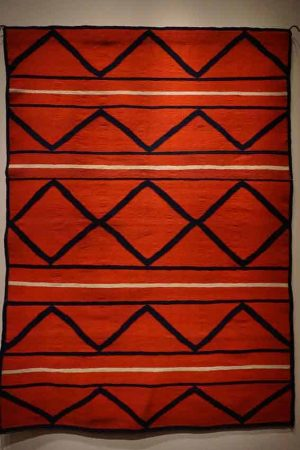 Navajo blanket. Photo courtesy Patrick Weiler