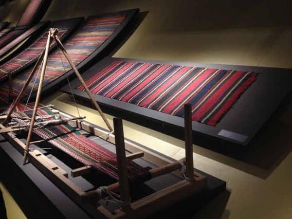 Azerbaijan Carpet Museum's exhibition display