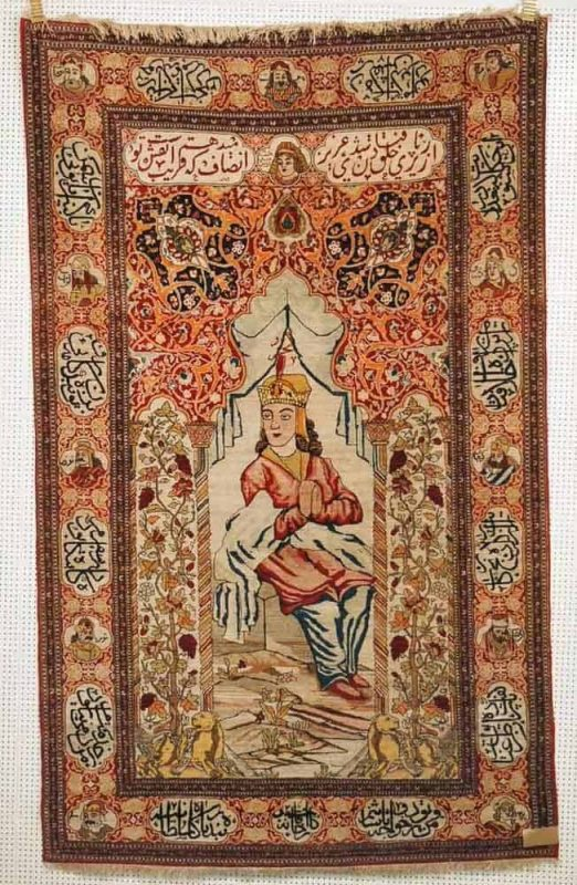 Lot 297, Isfahan, circa 1890, 227 x 142cm. Limit 4500 EUR